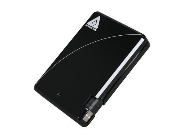 APRICORN Aegis Max 1TB USB 2.0 External Hard Drive A25-USB-M1000