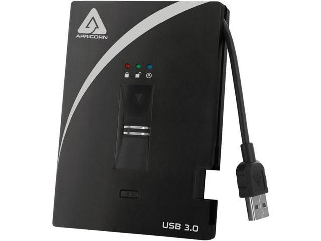 APRICORN Aegis Bio 500GB USB 3.0 External Hard Drive