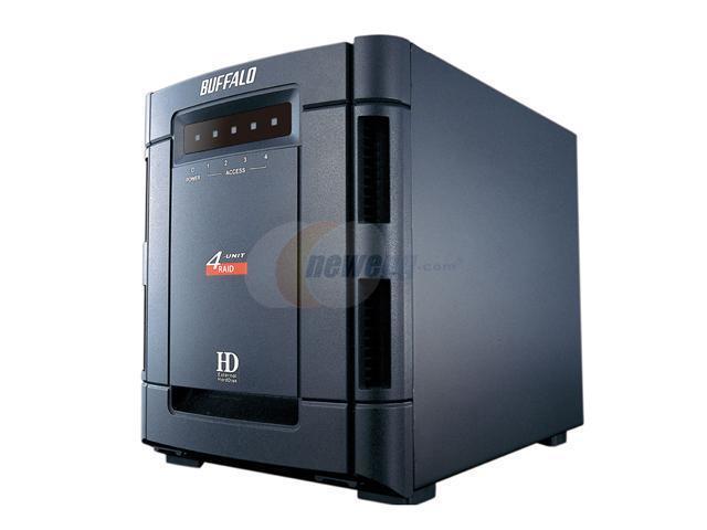 BUFFALO DriveStation Quattro 2TB USB 2.0 / eSATA 3.5
