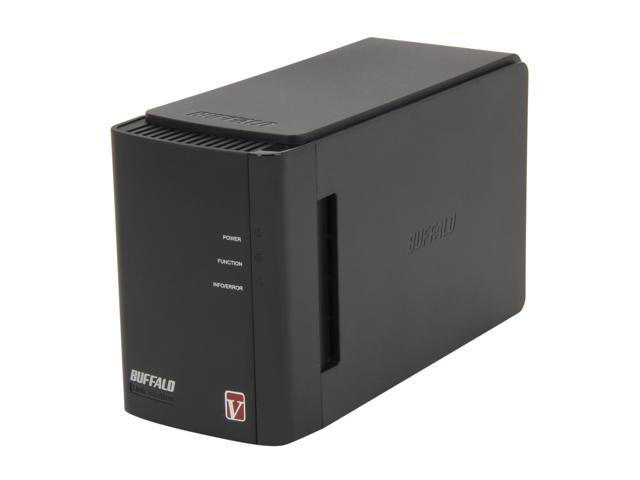 BUFFALO LS-WV2.0TL/R1-R LinkStation Pro Duo RAID 0/1 Network Storage