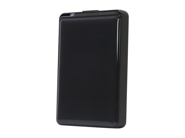 BUFFALO 1TB MiniStation Plus Portable Hard Drive USB 3.0 Model HD-PNT1.0U3B Black