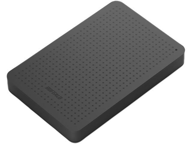 BUFFALO 1TB MiniStation External Hard Drive USB 3.0 Model HD-PCF1.0U3BB Black