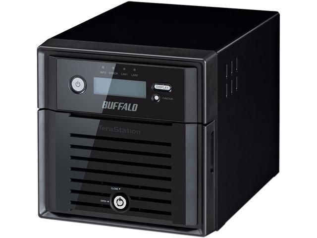 BUFFALO TS5200DN0802 8TB (2 x 4TB) TeraStation 5200DN 2-Bay 8TB (2 x 4TB) RAID NAS & iSCSI Unified Storage