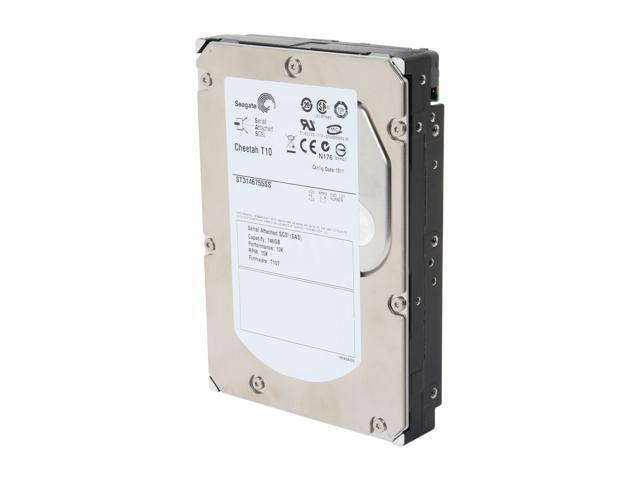 "Seagate Cheetah T10 ST3146755SS 146GB 15000 RPM 16MB Cache SAS 3Gb/s 3.5"" Enterprise Internal Hard Drive Bare Drive"