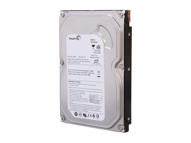 "Seagate DB35 Series 7200.3 ST3160215ACE-H 160GB 7200 RPM 2MB Cache IDE Ultra ATA100 / ATA-6 3.5"" Internal Hard Drive"