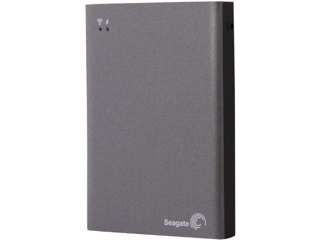 Seagate 1TB Wireless Plus  Mobile Device Storage STCK1000100 Gray