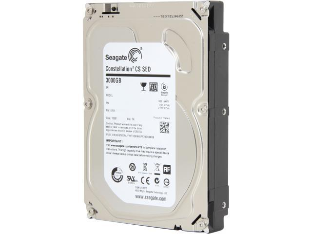 "Seagate Constellation CS ST3000NC000 3TB 7200 RPM 64MB Cache 3.5"" Internal Hard Drive"