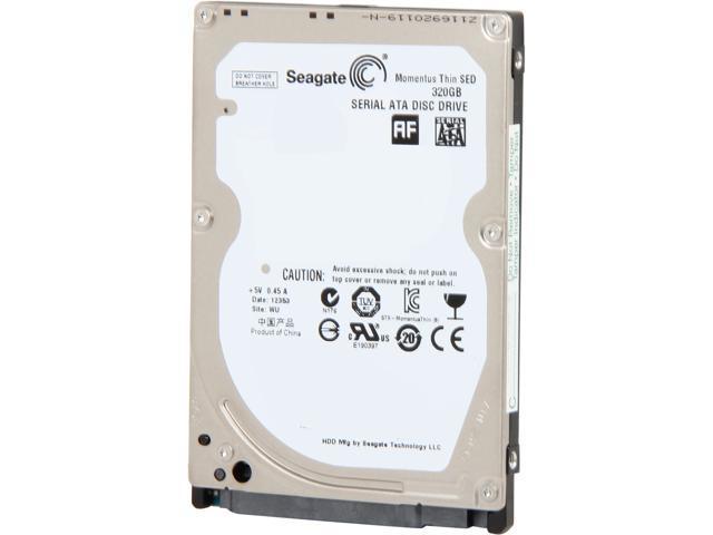 "Seagate Momentus Thin ST320LT009 320GB 7200 RPM 16MB Cache SATA 3.0Gb/s 2.5"" Internal Notebook Hard Drive Bare Drive"