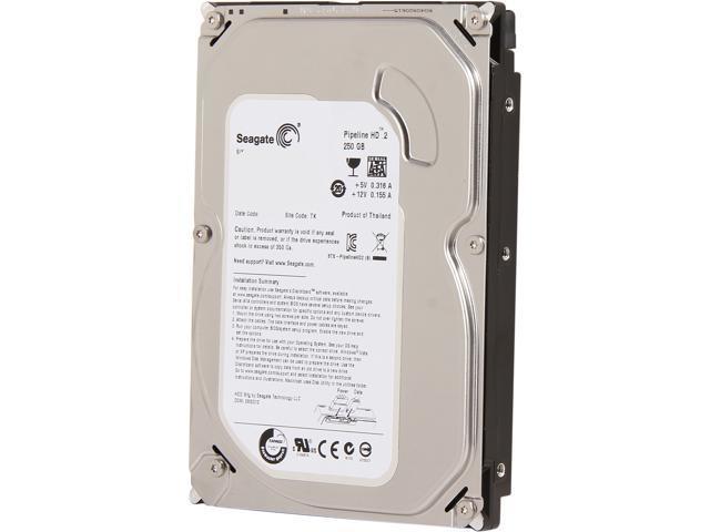 "Seagate Pipeline HD ST3250312CS 250GB 5900 RPM 8MB Cache SATA 3.0Gb/s 3.5"" Internal Hard Drive Bare Drive"