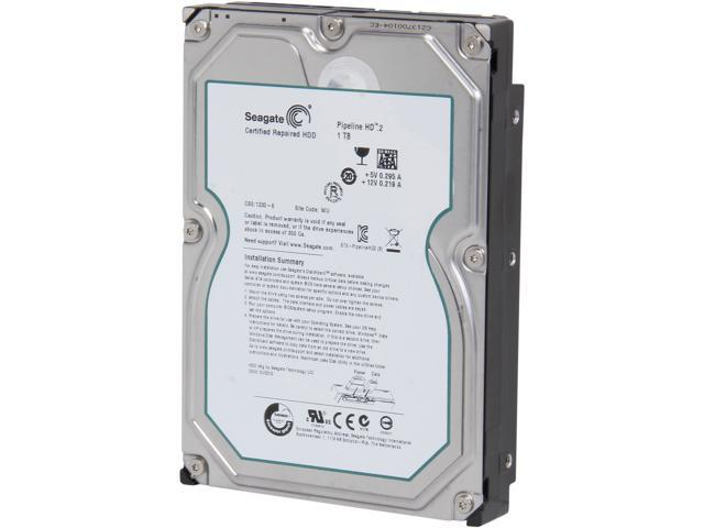 Seagate Pipeline HD.2 Series ST31000424CS 1TB 5900 RPM 16MB Cache SATA 3.0Gb/s 3.5