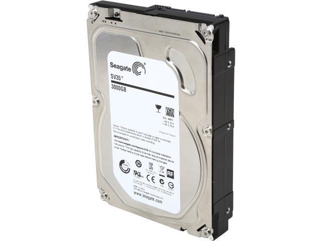 Seagate SV35.6 Series ST3000VX000 3TB 7200 RPM 64MB Cache SATA 6.0Gb/s 3.5