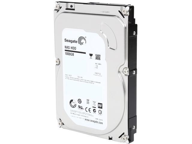 Seagate NAS HDD ST1000VN000 1TB 64MB Cache SATA 6.0Gb/s 3.5