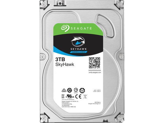 Seagate SkyHawk ST3000VX010 3TB 64MB Cache SATA 6.0Gb/s 3.5