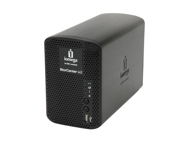iomega 34749 2 x 500GB StorCenter ix2-200 Network Storage