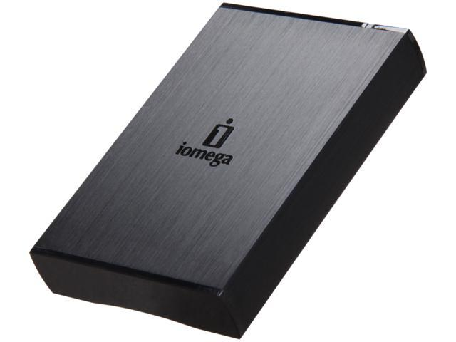 "iomega Prestige Portable 1TB USB 3.0 2.5"" External Hard Drive Black"