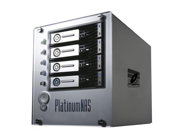 MicroNet PNAS2000P PlatinumNAS Plus Dual gigabit ethernet Network Attached RAID Storage