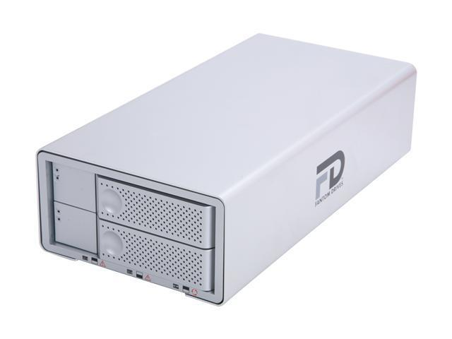 Quad Interface Hot Swappable Dual Drive RAID w/ NTI Shadow Backup 4