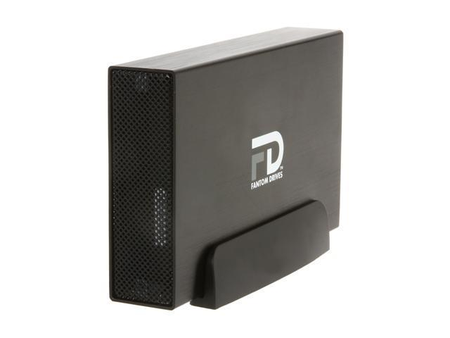 Fantom Drives G-Force3 2TB USB 3.0 Aluminum Desktop External Hard Drive GF3B2000U32 Black