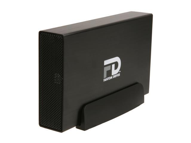 Fantom Drives Gforce/3 2TB USB 3.0 Aluminum Desktop External Hard Drive  GF3B2000U Black