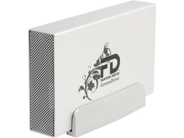 Fantom Drives GreenDrive 4TB USB 2.0 / eSATA External Hard Drive GD4000EU