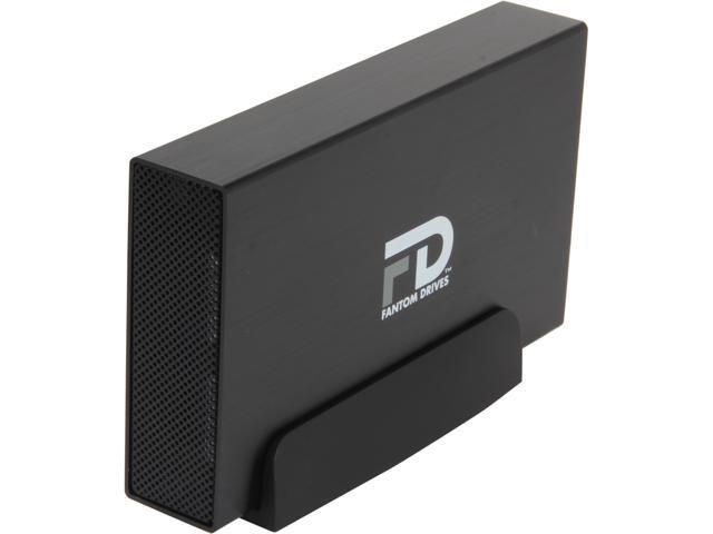 Fantom Drives G-Force Quad 3TB USB 3.0 / Firewire400 / 2 x Firewire800 / eSATA Aluminum Desktop External Hard Drive Black