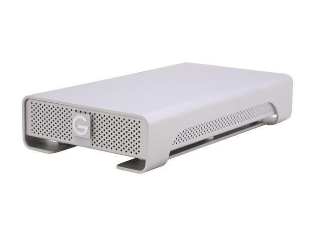 G-Technology G-DRIVE 3TB 7200 RPM USB 2.0 / 2 x Firewire800 / eSATA External Hard Drive Model 0G01973
