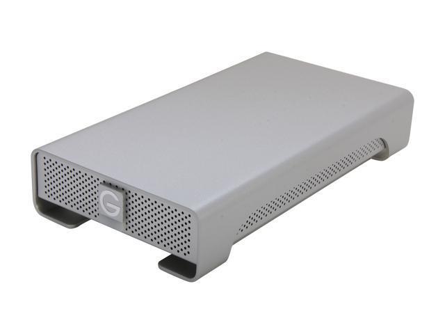 G-Technology G-Drive(Gen 4) 4TB 7200 RPM Professional High-Performance EXternal Hard Drive eSATA/ USB 2.0/ Firewire800 Silver (0G02213)