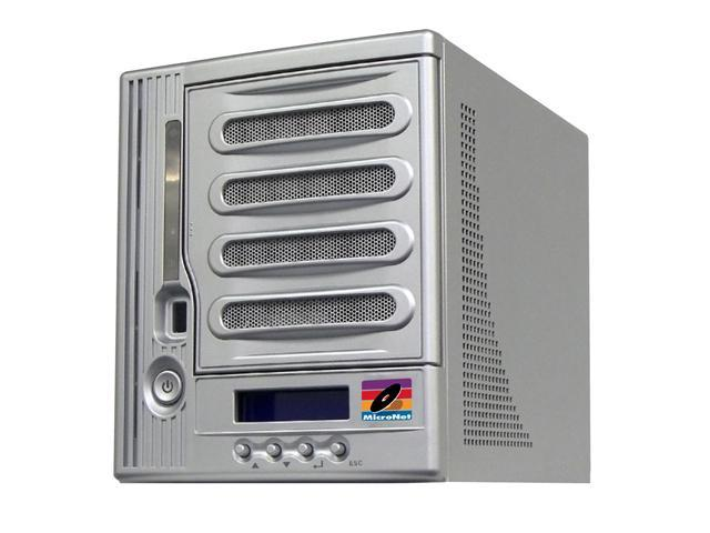 FANTOM DRIVES MXNAS2500 MaxNAS Network Attached RAID Storage with iSCSI (5x500GB HDD)