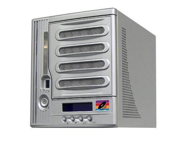 FANTOM DRIVES MXNAS5000 5TB MaxNAS Network Attached RAID Storage with iSCSI (5x1TB HDD)