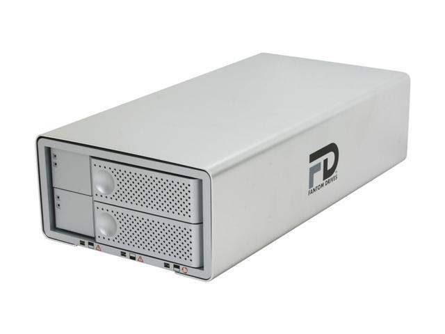 Fantom Drives DataDock II 4TB eSATA, FireWire 800, FireWire 400 and USB 2.0 3.5
