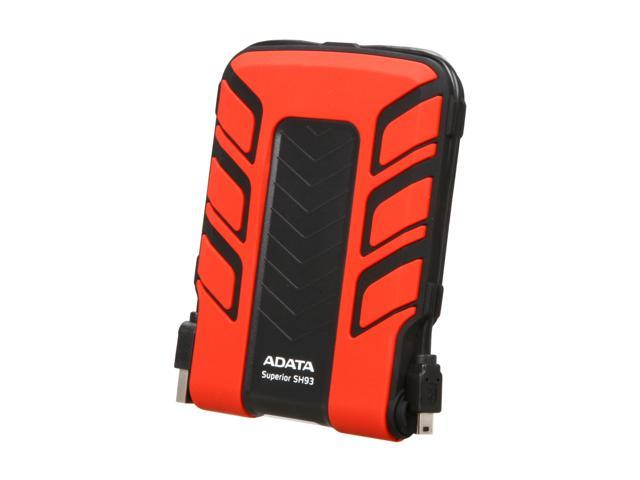 "ADATA 500GB USB 2.0 2.5"" External Hard Drive Red"