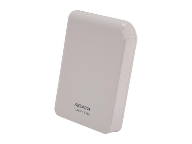 "ADATA CH11 500GB USB 3.0 2.5"" External Hard Drive White"