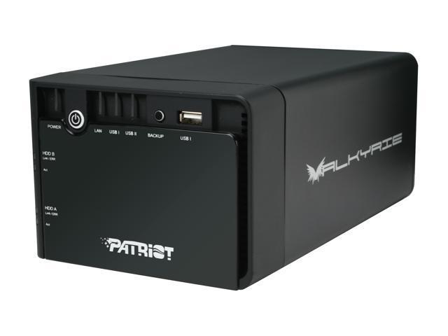 Patriot PCNASVK35S2 Diskless System Valkyrie 2-Bay Network Attach