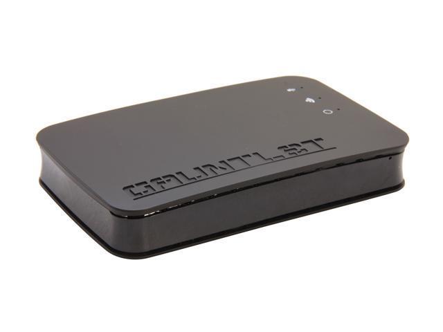 Patriot Gauntlet 320 PCGTW320S 320GB USB 3.0 / WIFI Black Portable Wireless External Drive