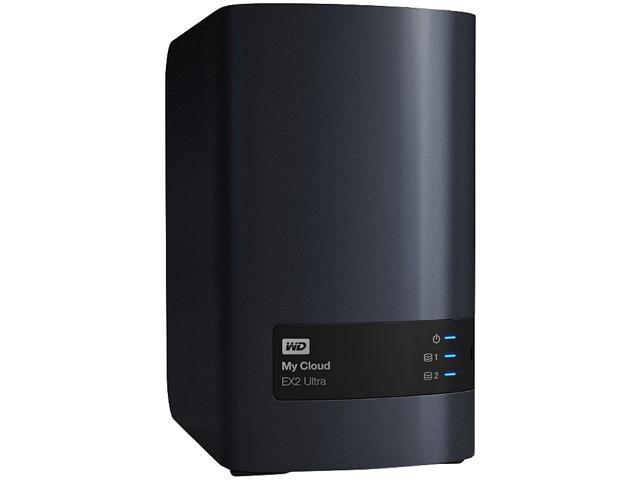 WD WDBVBZ0040JCH-NESN 4TB 4TB My Cloud EX2 Ultra 2-bay NAS
