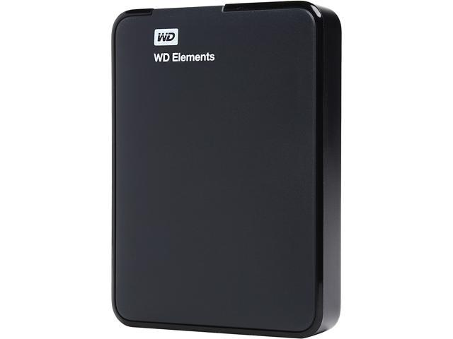 WD 2TB Elements Portable External Hard Drive - USB 3.0 - WDBU6Y0020BBK (CERTIFIED REFURBISHED)