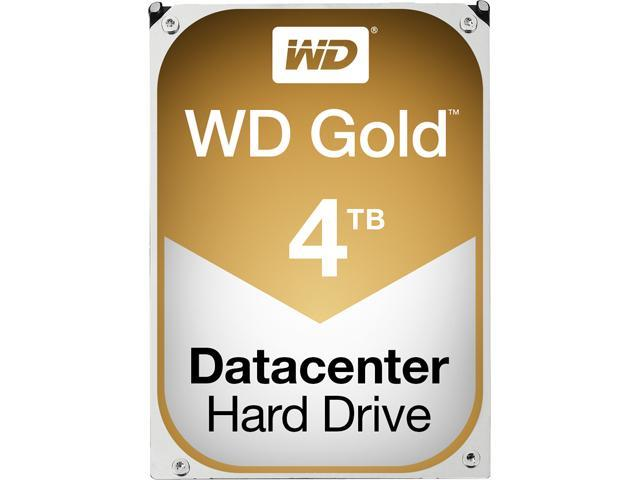 WD Gold 4TB Datacenter Hard Disk Drive - 7200 RPM Class SATA 6Gb/s 128MB Cache 3.5 inch - WD4002FYYZ