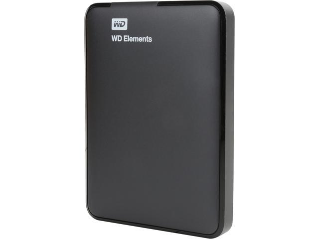 WD 1TB Elements Portable External Hard Drive - USB 3.0 - WDBUZG0010BBK (Certified Refurbished)