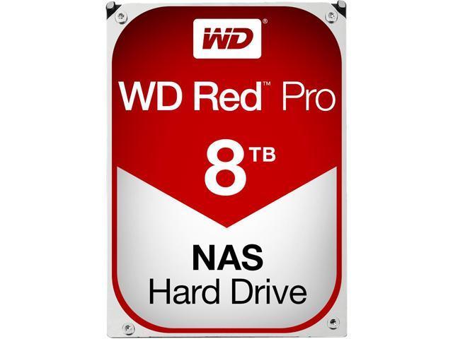 WD Red Pro WD8001FFWX 8TB 7200 RPM 128MB Cache SATA 6.0Gb/s 3.5