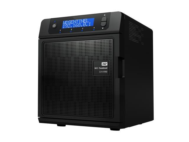 WD Sentinel DX4000 8TB (4x2TB) Small Business Storage Server NAS  WDBLGT0080KBK-NESN