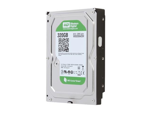 Western Digital WD Green WD3200AZDX 320GB IntelliPower 32MB Cache SATA 6.0Gb/s 3.5