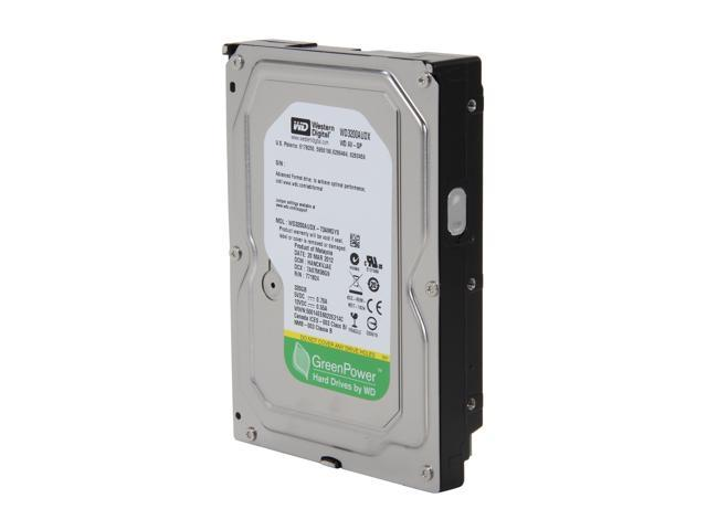 "Western Digital AV-GP WD3200AUDX 320GB IntelliPower 32MB Cache SATA 6.0Gb/s 3.5"" Internal Hard Drive Bare Drive"