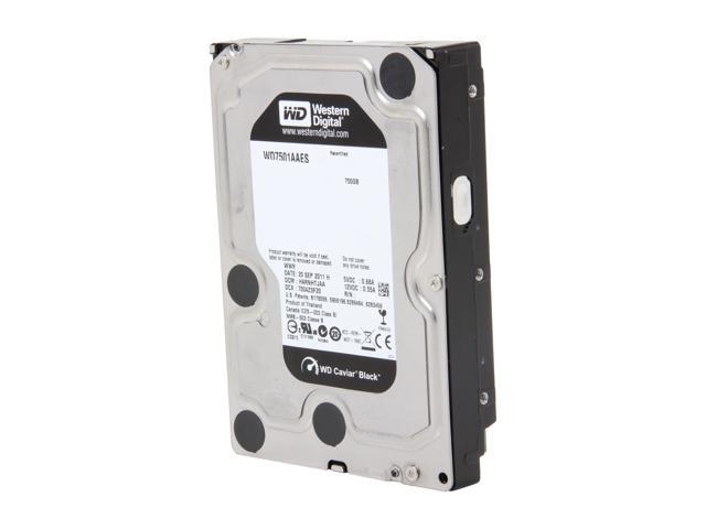 WD WD7501AAES-60Z2A0-FR 750GB 7200 RPM 32MB Cache SATA 3.0Gb/s 3.5