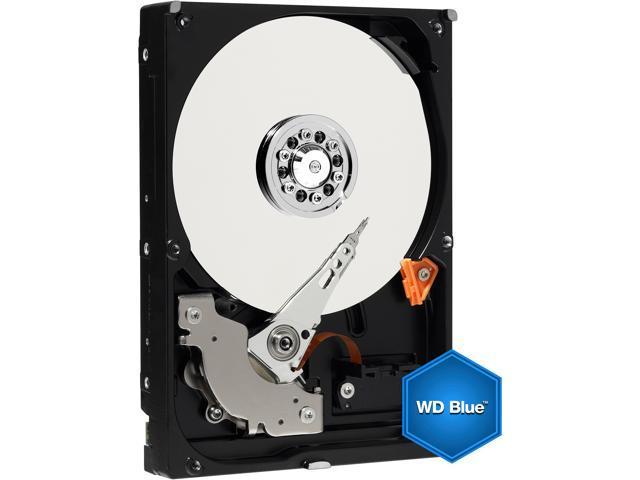 """Western Digital Blue WD7500AZEX 750GB 7200 RPM 64MB Cache SATA 6.0Gb/s 3.5"""" Internal Hard Drive Bare Drive"""