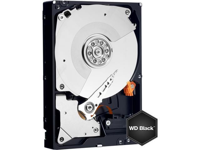 WD Black 500GB Performance Desktop Hard Disk Drive - 7200 RPM SATA 6 Gb/s 64MB Cache 3.5 Inch - WD5003AZEX