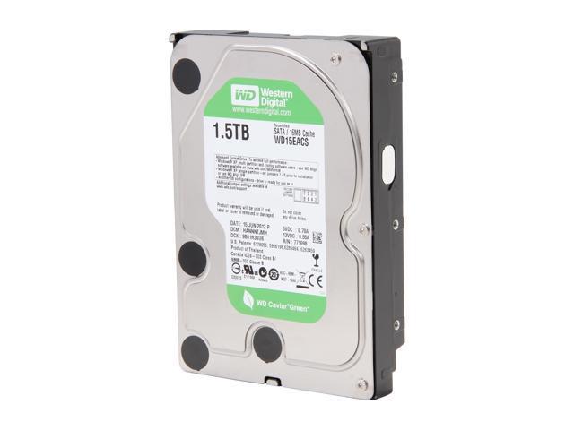 "WD WD15EACS-FR 1.5TB 7200 RPM 16MB Cache SATA 3.0Gb/s 3.5"" Internal Hard Drive Bare Drive"