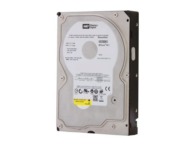 "WD WD2000KS-FR 200GB 7200 RPM 16MB Cache SATA 3.0Gb/s 3.5"" Internal Hard Drive Bare Drive"