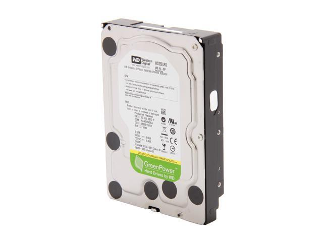 "WD AV-GP WD25EURS-FR 2.5TB IntelliPower 64MB Cache SATA 3.0Gb/s 3.5"" Internal Hard Drive Bare Drive"