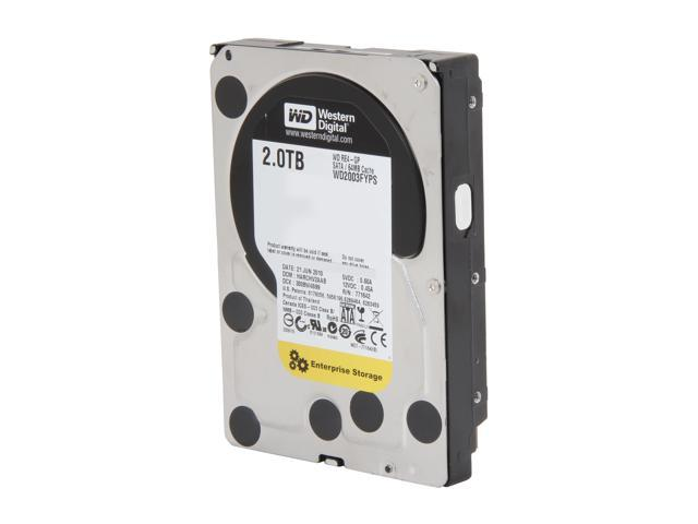 "Western Digital RE4-GP WD2003FYPS 2TB 64MB Cache SATA 3.0Gb/s 3.5"" Internal Hard Drive Bare Drive"