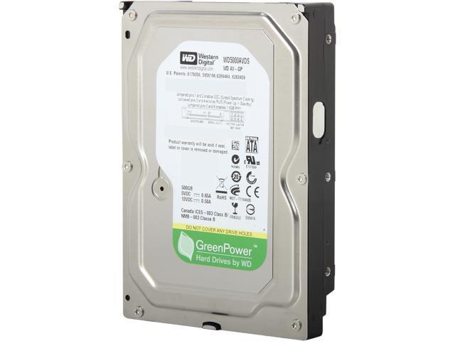 Western Digital AV-GP WD5000AVDS-63U7B1 500GB 32MB Cache SATA 3.0Gb/s 3.5